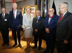 Belgium's Princess Astrid Decorates 2 Moroccans
