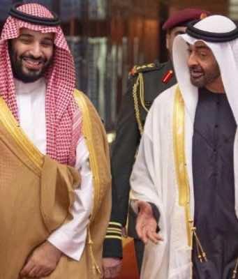 Saudi Arabia's MBS and Emirats' MBZ Partying in UAE Amid Khashoggi's Fallout