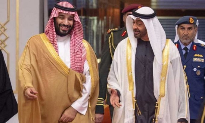 Saudi Arabia's MBS and Emirats' MBZ Partying in UAE Amid Khashoggi's Fallout