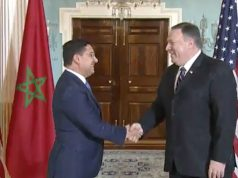 Bourita and Pompeo Discuss Western Sahara in Meeting in Washington