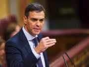 Spain's socialist prime minister, Pedro Sanchez