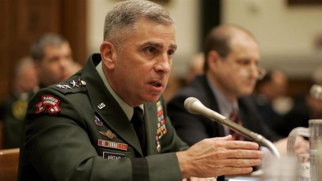 Trump Nominates Retired General John Abizaid as Saudi Ambassador