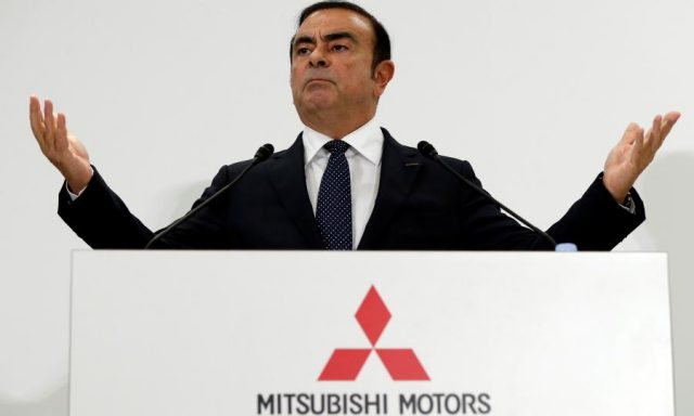 After Nissan, Mitsubishi Dismisses Carlos Ghosn as Chairman
