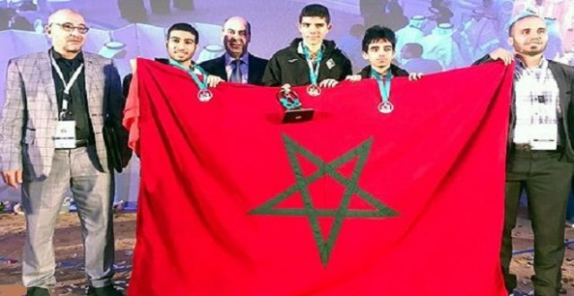 Morocco Wins Gold and Silver Medals at Arab Math Olympics