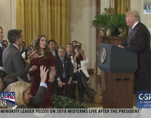 Video: Trump Attacks CNN Reporter over Migration Question