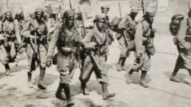 Moroccan Soldiers Fought in All Major Battles of WWI