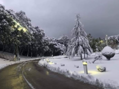 In Photos: Morocco's Snowfall in October