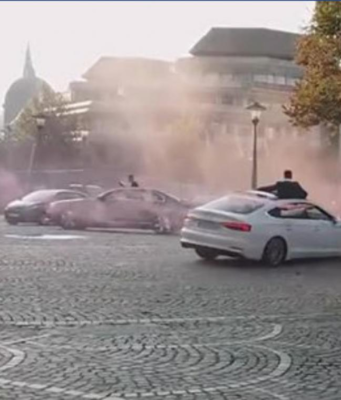 Video: Belgium Police Chase and Arrest Moroccan Wedding Guests