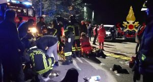 6 People Killed, Over 100 Wounded at Nightclub Stamped in Italy