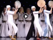 Irish Dancers Perform Ahidous Amazigh Dance, Impressing Moroccans