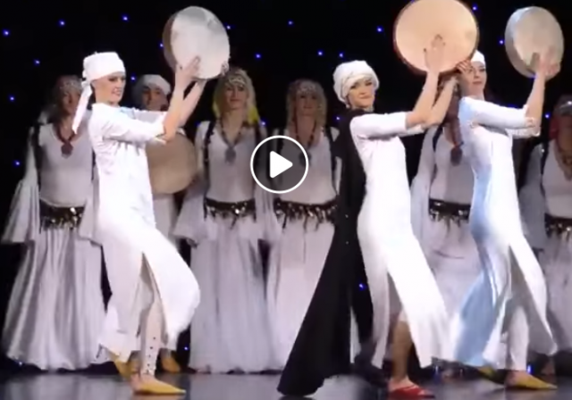 Czech Dancers Perform Ahidous Amazigh Dance, Impressing Moroccans