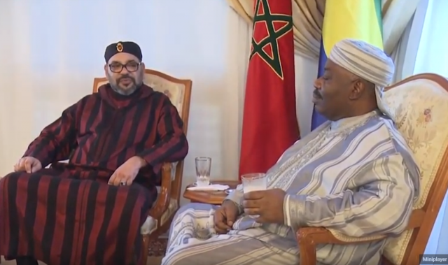 Gabon's Top Government Officials Join President Ali Bongo in Rabat