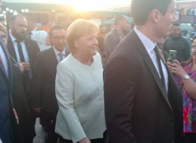 Angela Merkel Turns Heads in Marrakech Ahead of Global Migration Pact
