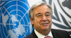 UN Secretary-General Antonio Guterres Marrakech migration Pact