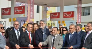 Vivo Energy Opens Shell Gas Station in Casablanca