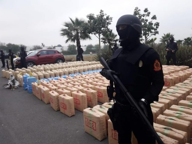 Morocco's DGSN Seizes 400 Hashish Bags of 10 Tons in El Jadida