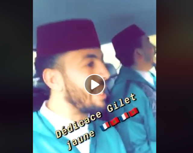 Video: Moroccans Play 'Dakka Marrakchia' Amid Yellow Vest Riots