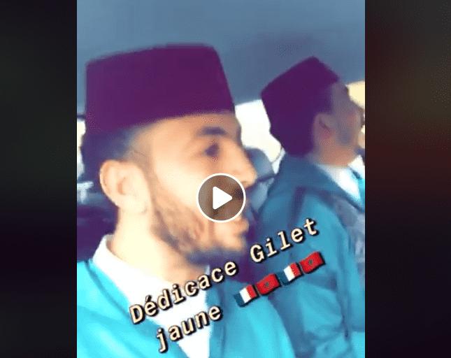Video: Moroccans Play 'Dakka Marrakchia' Amid Yellow Vest Riots