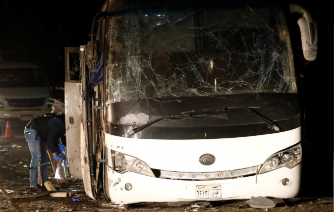 Egypt Police Kill 40 'Terrorists' After Vietnamese Tour Bus Attack