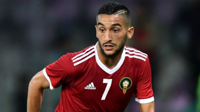 Morocco's Coach Defends Ziyech After Penalty Miss Against Burkina Faso