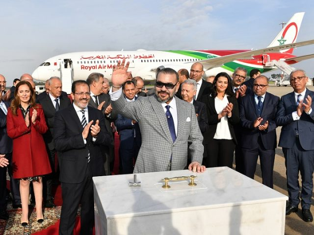 King Mohammed VI Launches New-Generation RAM Airplanes in Rabat