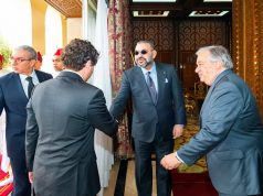King Mohammed VI Receives UN Secretary General Antonio Guterres