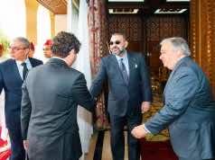 King Mohammed VI Receives UN Secretary General Antonio Guterres