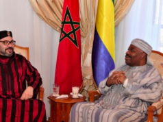 King Mohammed VI Spends New Year Holidays in Gabon
