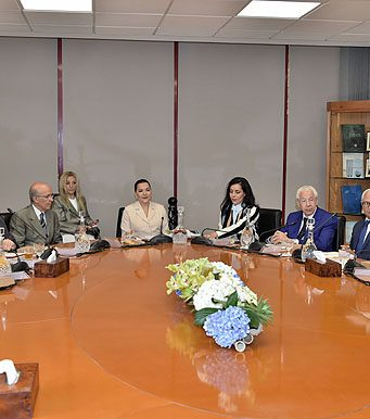 Morocco's Princess Lalla Hasna Reviews Progress of Air-Climate, Eco-Schools Program