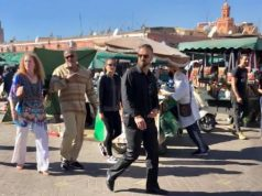Laurence Fishburn in Marrakech