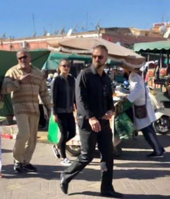 Laurence Fishburn in Marrakech
