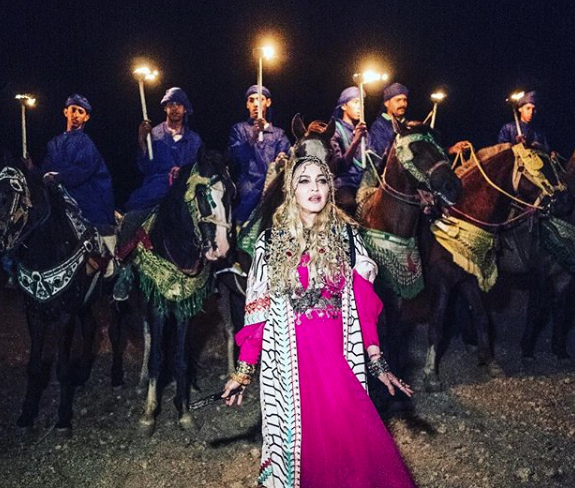 Madonna Honors 'Women Everywhere' in Marrakech Birthday Speech