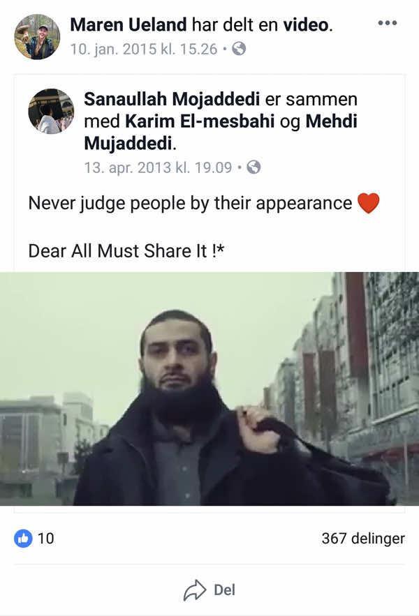 Norwegian Tourist Shared a Pro-Muslim Video 3 Years Before Her