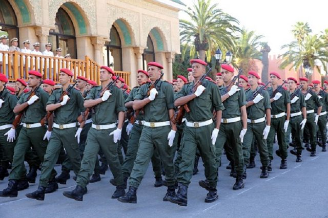 Moroccan armed forces and military training