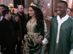 Video: Atlas Lion Hamza Mendyl Gets Married in Casablanca