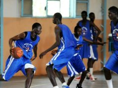 NBA academy training center Africa