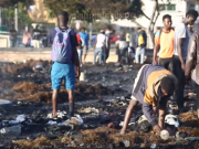 Migrant Camp Catches Fire in Morocco's Oulad Ziane Again
