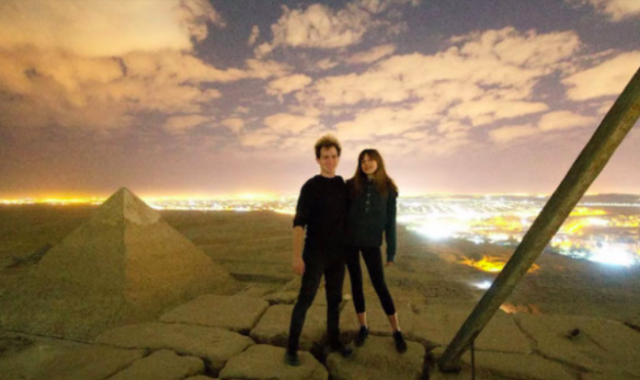 Egypt Investigates Danish Pair Who Climbed Great Pyramid to Take Indecent Photo