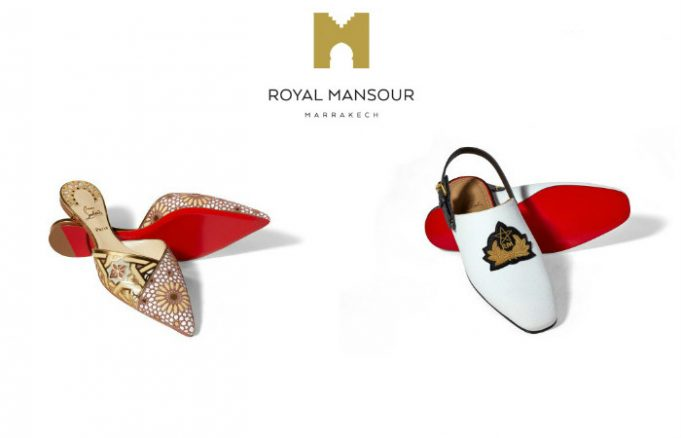 Marrakech Royal Mansour, Christian Louboutin Introduce MAD 8,650 Slippers