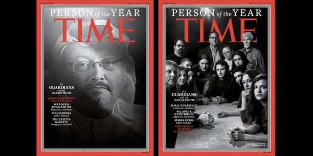 Time Magazine Names Jamal Khashoggi Person of the Year