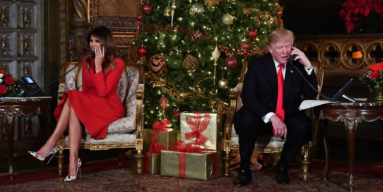 Girl still believes in Santa despite talk with Donald Trump