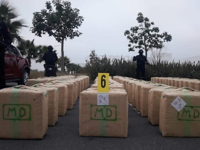 police seized 400 bags of 10 tons of drugs in El jadida
