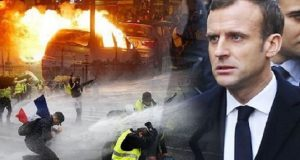 Emmanuel Macron Yellow vests protests France
