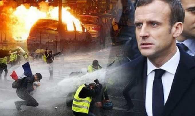Emmanuel Macron Yellow vests protests France