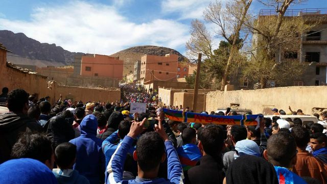 Amazigh Activists Commemorate Death of Murdered Activist Omar El Khalek