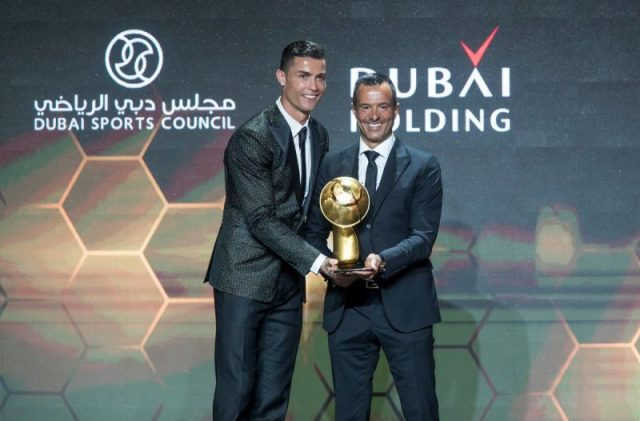 Cristiano Ronaldo Wins Best Player of the Year at Globe Soccer Awards