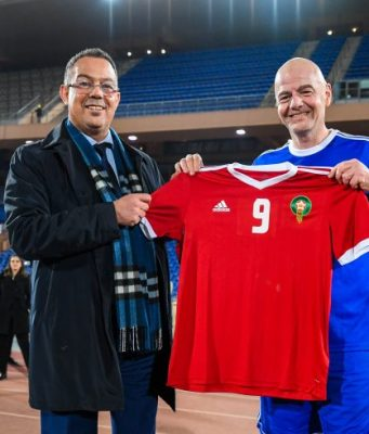 Infantino: Still Early to Talk About Moroccan-European Bid for 2030 World Cup