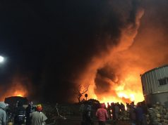 Video: After Bus Fire, Flames Consume Wholesale Market in Casablanca