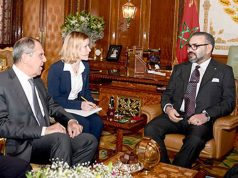 King Mohammed VI Hosts Russian Minister, Extends Invitation to President Putin