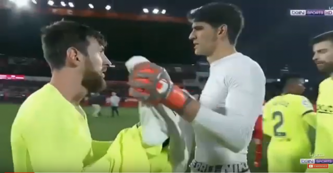 Video: Morocco's Yassine Bounou, Messi Exchange Jerseys After Game